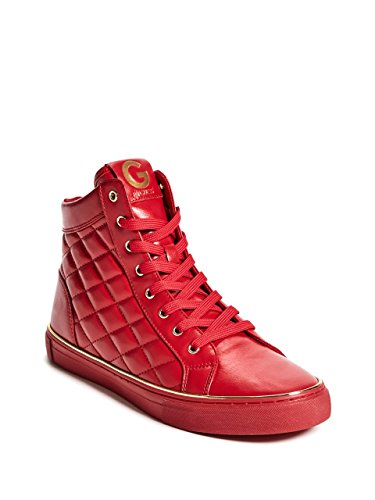 o Quilted High-Top Sneakers (Guess Leather Sneakers)