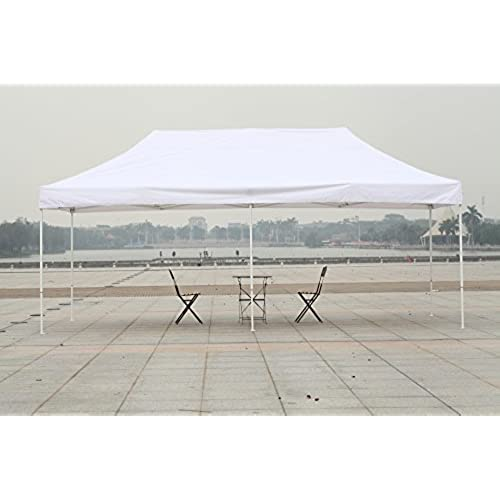 American Phoenix 10x10 10x15 10x20 White Frame Portable Event Canopy Tent Party Gazebo Commercial Fair Shelter Car