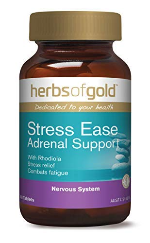 Stress Ease for Adrenal Support - High potency extracts of Rhodiola, Ashwagandha, Rehmannia,