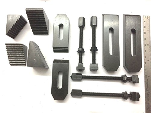 24 Pcs Clamp Kit Set M6 (6 mm) For Rotary Tables, Milling Tables, Face Plates & Vertical Slide by Global Tools (Image #6)