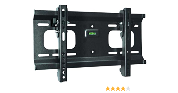 Black Adjustable Tilt//Tilting Wall Mount Bracket with Anti-Theft Feature for Samsung UN32EH4003F 32 inch LED HDTV TV//Television