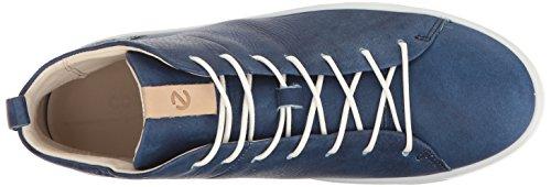 Blu Scarpe Ginnastica Soft da Donna Basse 8 Indigo 5 ECCO ESnUqR0AE