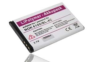 BATERÍA PARA EQUIPOS NOKIA X2, X2-00 ; Material Li-Polymer; Reemplaza baterías originales NOKIA BL-4C, Snom 60020438