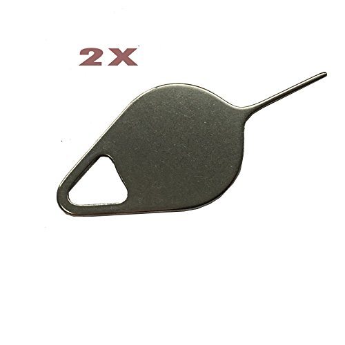 2PCS Eaglestar Specially Sized Sim Card Tray Opening Removal Tool,Eject Pin Tool Replacement for Samsung Galaxy S7,S7 Edge/Galaxy S8 S8 Plus/Galaxy S9 S9 Plus/Galaxy Note 8/Note 9 ()