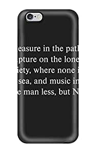 Fashion Tpu Case For Iphone 6 Plus- Quote Defender Case Cover