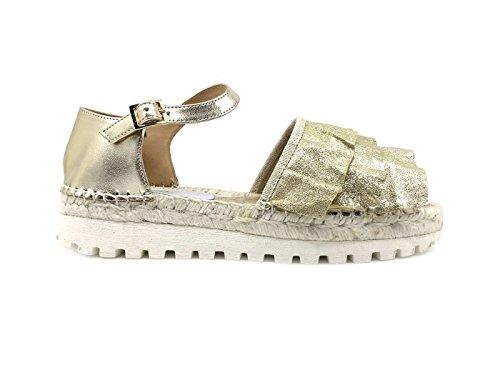 LAGOA Damen Sandalen * Platinum