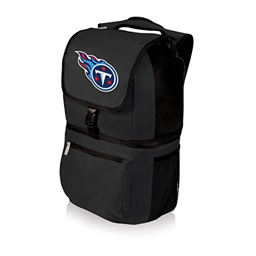 NFL Zuma Insulated Cooler Backpack, Black, Tennessee Titans