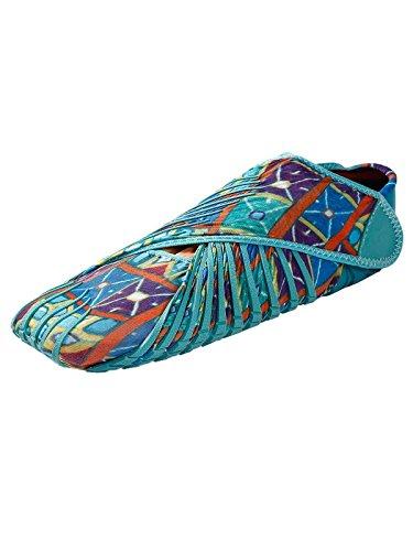 Vielfarbig Schnellverschluss 45 Damen Yoga Schuhe Joggingschuhe mit Größe cooshional 36 Herren Laufschuhe Himmelblau OwqwY8