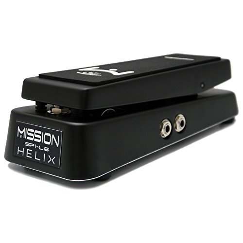 Mission Engineering Inc Helix Expression Pedal W Toe Switch - Black Finish