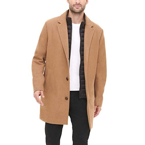 Dockers Men's The Henry Wool Blend Top Coat