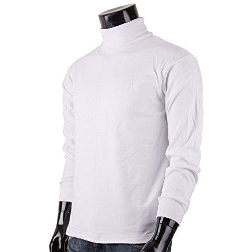 BCPOLO Rollkragen baumwolle wei©¬ pullover T-Shirt