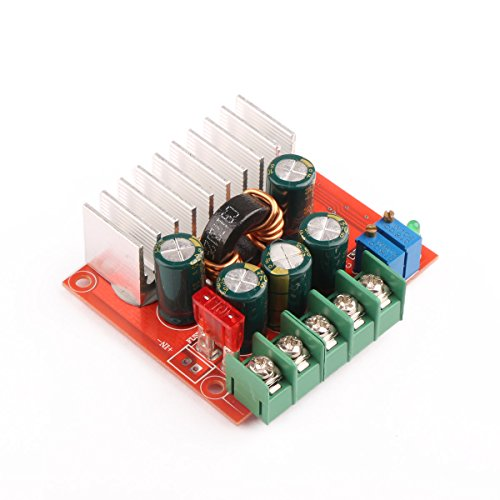 DROK DC-DC Automatic Boost Buck Module 8A 12V/24V Constant Voltage/Current...