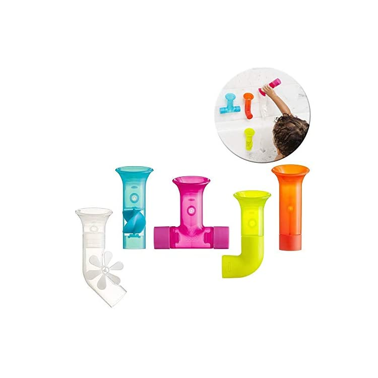 Boon B11088 Bath Toy, Pipes New Colours