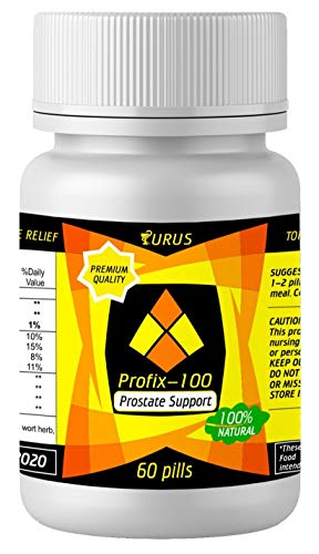 Prostate Supplements for Men – Prostate Herbal Supplements – Absolutely Natural for Prostate Health and Support – Pills Against Frequent Urination and Inflammatory of The Urinary Tract