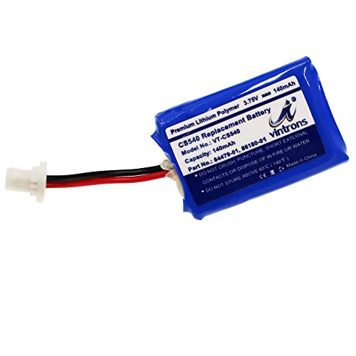 85%OFF VINTRONS, 86180-01, 84479-01, Battery For Plantronics