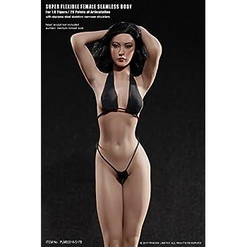 TBLEAGUE Phicen Female Flexible Seamless Body Medium Breast Suntan 1//6 S19B