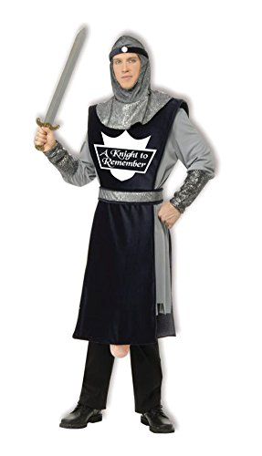 [Knight to Remember Costume - Standard - Chest Size up to 42] (Adult Knight To Remember Costumes)