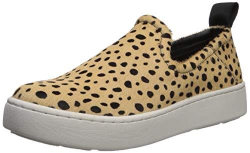 Dolce Vita Women's TAG Sneaker, Leopard Calf Hair, 9 M US