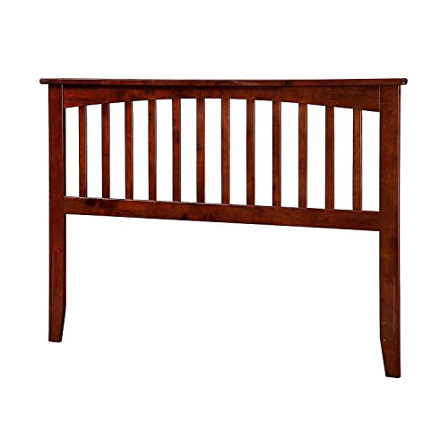 Atlantic Furniture Mission Headboard Full Walnut ()
