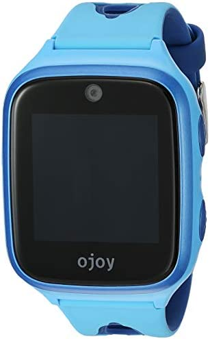 Ojoy [New Version] A1 Kids Smart Watch   Waterproof GPS Smart Watch for Kids   4G LTE Chipset by Qualcomm Snapdragon   Safety Gizmo Watch   with iOS & Android App (Blue) – US Warranty