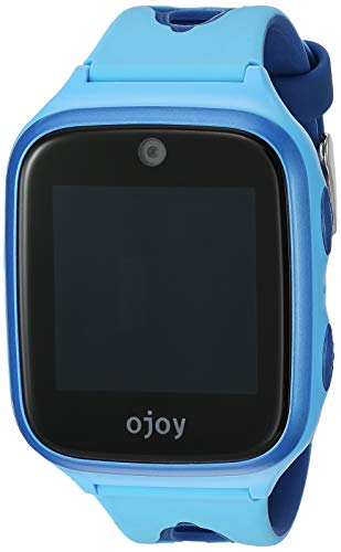 OJOY A1 Kids Smart Watch | Android Smart Watch for Kids | 4G LTE GPS Watches for Boys and Girls | Safety Gizmo Watch | Step Counter & School Mode | with iOS & Android App (Blue) - US Warranty