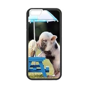iPhone 6 Plus 5.5 Inch Phone Case Cute pig Q6A0459133