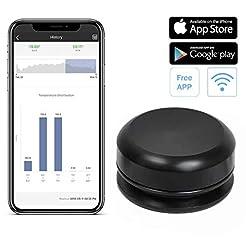 Newkiton NK-01B Wireless Thermometer Tem...