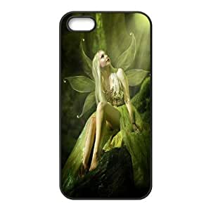 Iphone 5S Case Fairy in the Forest Black Yearinspace YS366707 by gostart by paywork
