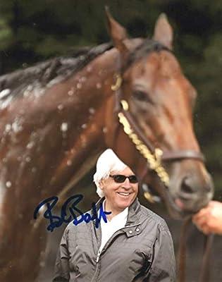 Bob Baffert SIGNED Photo COA Horse Trainer Kentucky Derby Pharoah Justify
