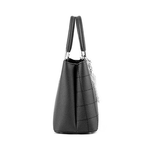 Shoulder Fashion Tote Shopping Bag Women's Bags Bag Bags Shoulder Bag Leather Bag Handbag Women Women Handbags Black Clutches nIq4qzOW