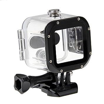 GP1032BS 水中45Mダイビング防水ハウジングケース GoPro Hero 4 Sessionスポーツカメラアクセサリー [並行
