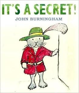 amazon it s a secret john burningham children s books