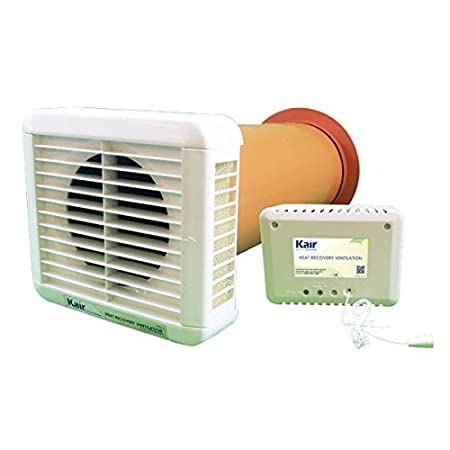 kair heat recovery silent extractor fan humidity pullcord night rh amazon co uk  heat recovery extractor fan bathroom reviews