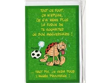 Grafix Carte D Anniversaire Enfant Gouter Sportif