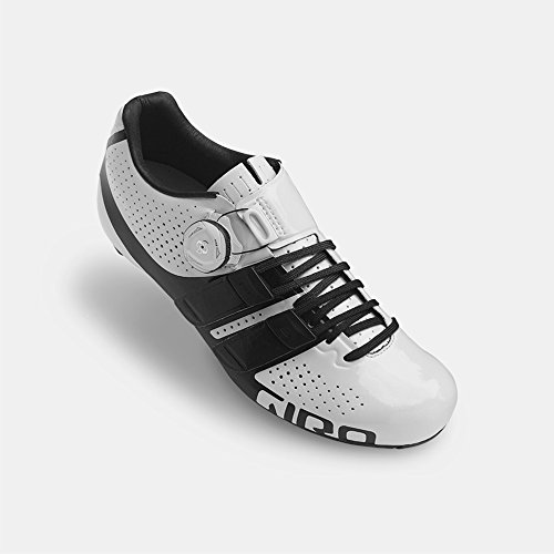 Giro Factress Techlace Cycling Shoe - Women's White/Black (Rapid Sl Skate)