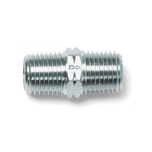AIGNEP USA 82663-06 Check Valve, 3/8'' Male NPTF Thread (Nickel Plated Brass)