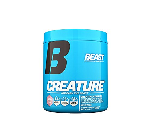 Beast Sports Nutrition, Creature Creatine Complex, Pink Lemonade, 10.58 Ounce