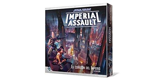 Fantasy Flight Games- Star Wars Espa/ñol Imperial Assault: el coraz/ón del Imperio Color FFSWI46