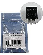20PCS BC547C BC547 NPN Transistor TO-92 45V 100MA 625mW