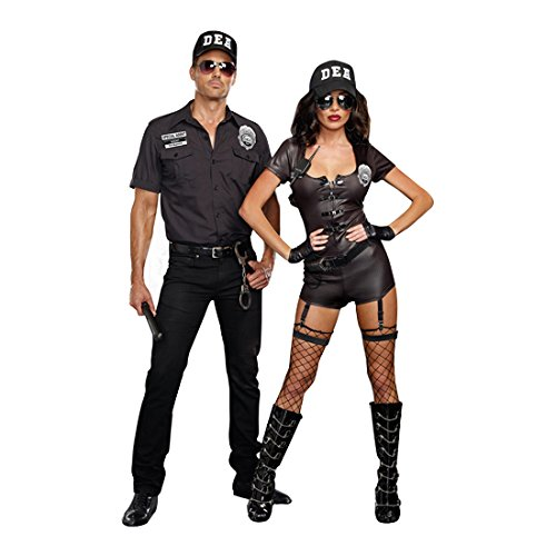 Amazon.com Dreamgirl Menu0027s DEA Officer Phil My Pockets Costume Black X-Large Clothing  sc 1 st  Amazon.com & Amazon.com: Dreamgirl Menu0027s DEA Officer Phil My Pockets Costume ...