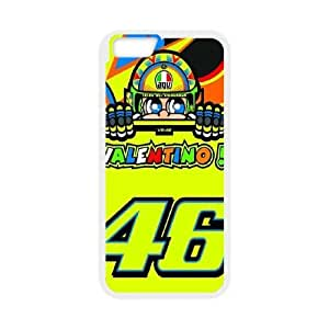 Valentino Rossi For iPhone 6s Plus 5.5 Inch White Cell Phone Case Zkzfd7171603