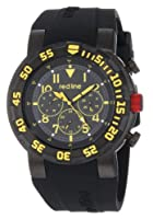 red line Men's RL-50027-BB-01YL Black Silicone Watch