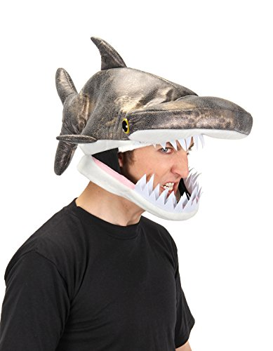Sea Inspired Halloween Costumes (ELOPE Hammerhead Shark Costume Jawesome Hat)
