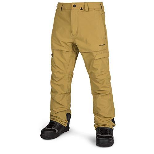Volcom Men's GI Snow Fatigue Fit Pant, Resin Gold - Volcom Vent