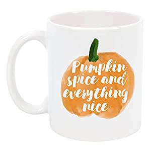 High Tide Mugs Pumpkin Spice and Everything Nice Coffee Mug
