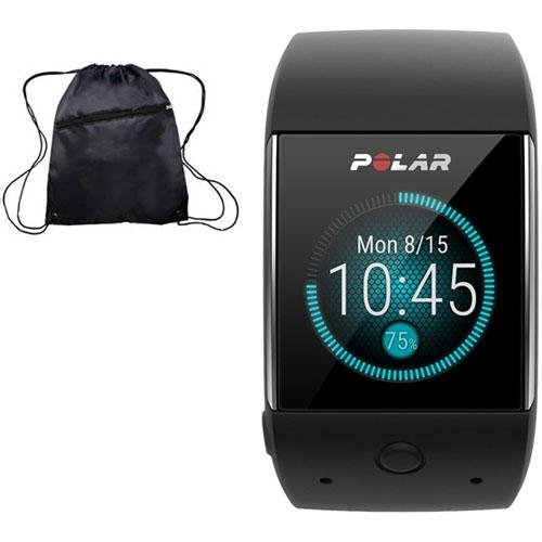 Polar M600 GPS Smart Watch with Heart Rate and Bag Fitness Kit - Black by Polar (Image #3)