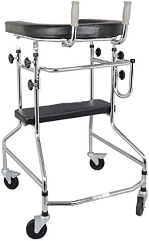 ZXCMNB Gehhilfe for Ältere Menschen, Rehabilitationsgehhilfe for Die Unteren Gliedmaßen, Gehhilfe, Rehabilitationsphysiotherapie, Sicherheitshandlauf, Vierbeiniger Gehstock