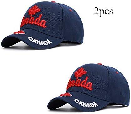 Yokst Paquete de 2: gorra de béisbol bordada con tendencia ...