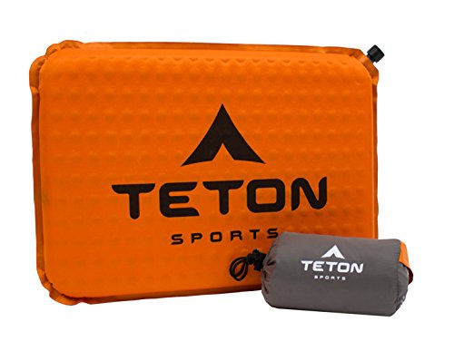 (TETON Sports ComfortLite Self-Inflating Seat Cushion; Never Sit on Hard Stadium Bleachers Again; Designed with Your End in Mind)