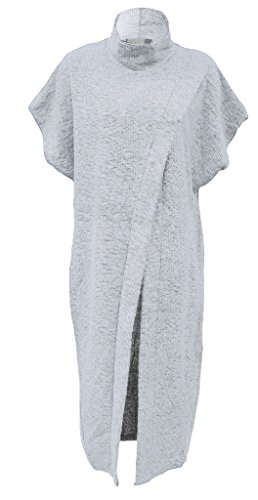 MKL Fashions - Jerséi - para mujer L-Grey
